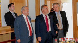 Besuch des Landeshauptmannes Hans Niessl